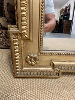 French 19th Century Gilt Wall Mirror with Carved Decoration (8 of 9)
