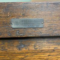 Quality Oak Antique Hall Wardrobe by Wylie & Lochhead (5 of 7)