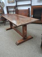 Oak Dining Table (2 of 5)