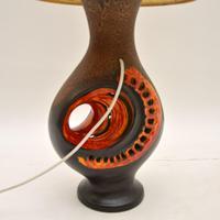 1960's Vintage German Ceramic Table Lamp (8 of 8)