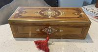 19th Century French Applewood Glove Box (3 of 17)