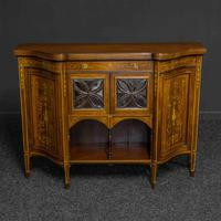 Victorian Rosewood Side Cabinet (10 of 17)