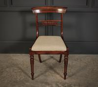 William IV Set of 8 Rosewood Dining Chairs (7 of 18)