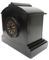 Fine Antique French Slate Mantel Clock - Bell Striking 8-day Mantle Clock c.1900 (10 of 12)