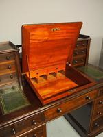 Victorian Mahogany Dickens Desk (4 of 12)