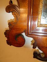 English 18th Century Mahogany & Gilt Mirror (6 of 9)