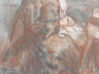 Victorian pastel portrait of grand mam artist Dodd (Free shipping to Mainland England) (3 of 10)