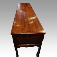 George III Long Oak Dresser Base (14 of 14)