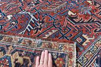 Old Heriz Roomsize Carpet 307x221cm (4 of 4)