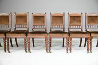 6 Victorian Walnut Dining Chairs (3 of 11)