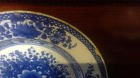 English Delftware 18th Century Pottery Plate in the Chinese taste (6 of 10)