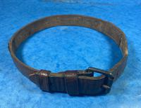 Victorian Brass Mounted Hide Dog Collar (9 of 10)