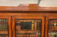 Fine Quality Figured Mahogany Library Bookcase (9 of 17)