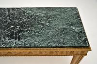 French Giltwood Marble Top Coffee Table c.1930 (5 of 8)
