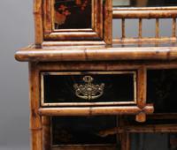 Impressive 19th Century Bamboo Cabinet (10 of 25)