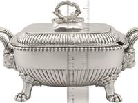 Sterling Silver Tureens - Antique George III 1810 (15 of 15)