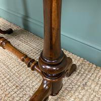 Victorian Rosewood Antique Writing Table (2 of 7)