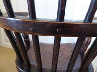 Victorian Ash & Elm Wood Childs Windsor Chair c.1840 (5 of 14)
