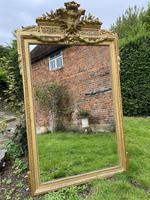 Large gilt mirror with swags (4 of 6)