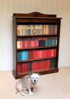 Oak Open Bookcase c.1910 (7 of 10)