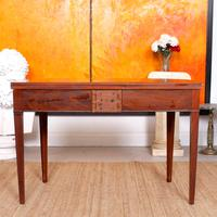 Folding Writing Desk 19th Century Mahogany (12 of 17)