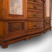 Large Fine Antique Wardrobe Compactum, English, Walnut, Gillow & Co, Victorian (11 of 12)