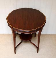 Inlaid Mahogany Circular Table (8 of 12)