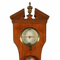 """Georgian Satinwood 10"""" Dial Barometer (5 of 8)"""