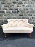 Antique English Upholstered Sofa
