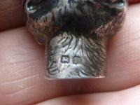 Rare Solid Silver Louis Wain Style Cigar Lighter Hallmarked 1906 (3 of 7)