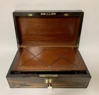 Victorian Coromandel Writing Slope Box (5 of 17)