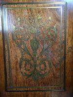 19th Century French Rosewood & Brass Inlaid Bonheur Du Jour (2 of 12)