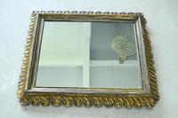 Antique Continental Gilt Mirror (10 of 12)