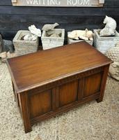 Quality Solid Oak R.E.H Kennedy Blanket Box (5 of 5)