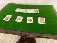 Regency Rosewood Card Table Games (5 of 8)