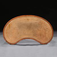 Fine 19th Century Satinwood Kidney Shape Side Writing Table In The Manner Of Gillows (6 of 11)