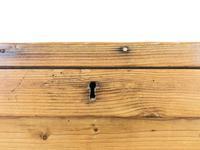 Large Victorian Antique Pine Trunk (8 of 14)