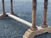 French Bleached Oak Farmhouse Refectory Dining Table (2 of 18)