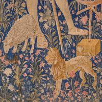 Large Antique Tapestry, French, Needlepoint, Decorative Wall Covering c.1920 (11 of 12)