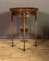 Fine Quality Edwardian Side or Lamp Table (5 of 10)