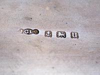 Stylish Rectangular Antique Silver Cigar Pocket Case (6 of 6)
