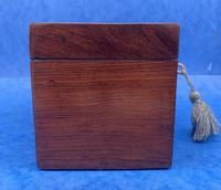 William IV Rosewood Twin Section Tea Caddy with Mother of Pearl Inlay (11 of 14)