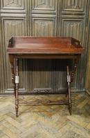 Mahogany Butlers Tray on Stand (3 of 6)