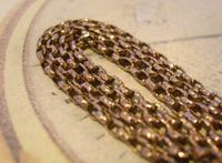 Edwardian Ladies Pocket Watch Guard Chain 1905 12ct Rose Gold Filled (6 of 8)