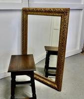 20th Century Rococo Style Gilt Wall Mirror (3 of 7)