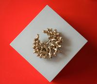 Superb Large Vintage Brilliant & Marquis Rhinestone Sparkling Brooch - Pin / Ideal Gift / Birthday Present (4 of 7)