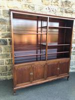 Antique Mahogany Library Bookcase (10 of 13)
