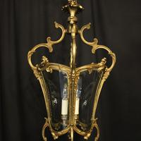 Italian Gilded Bronze Four Light Lantern (2 of 10)