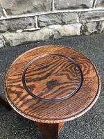 Pair of Arts & Crafts Oak Tables (3 of 9)