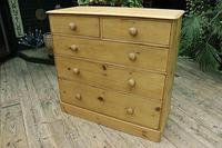 Gorgeous & Large Old Pine Chest of Drawers (6 of 7)